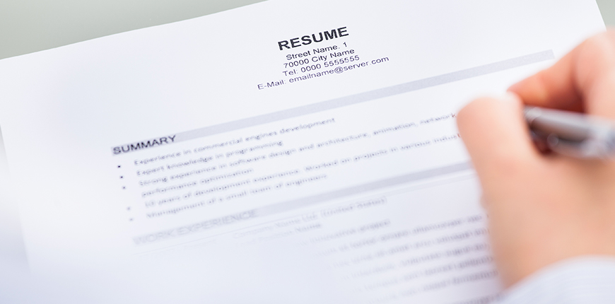 Experienced workers can build the resume in ethical ways