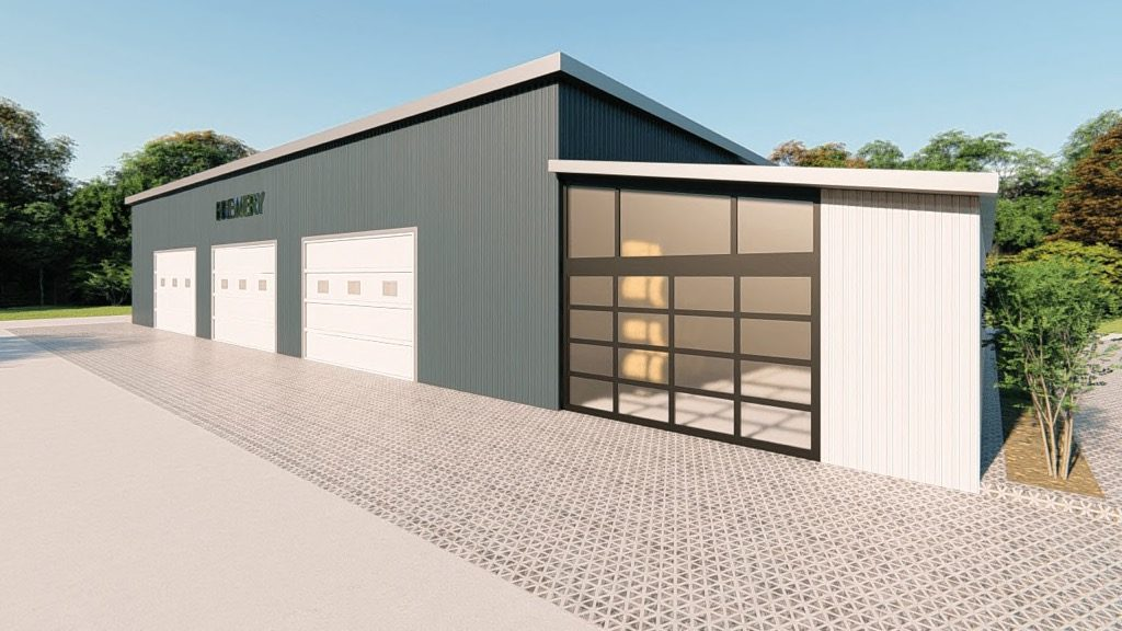affordable steel building design