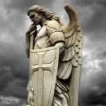 Saint Michael Meet The Lord And Sat Before Him